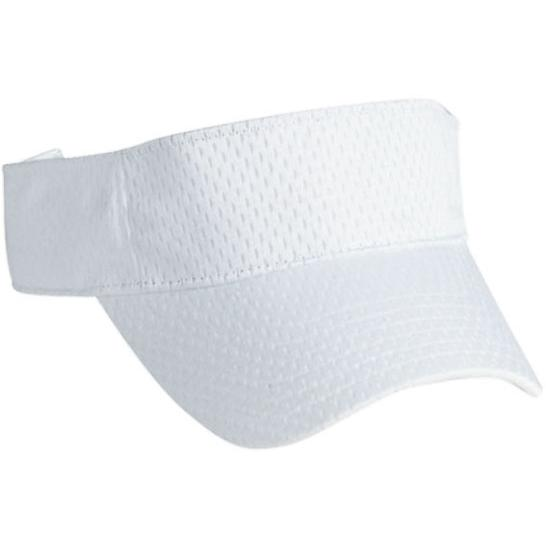 Cobra Caps Mesh Visor - White