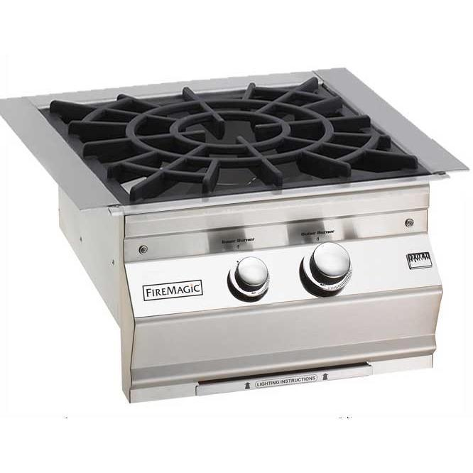 Fire Magic Propane Gas Built-In Power Burner With Porcela...