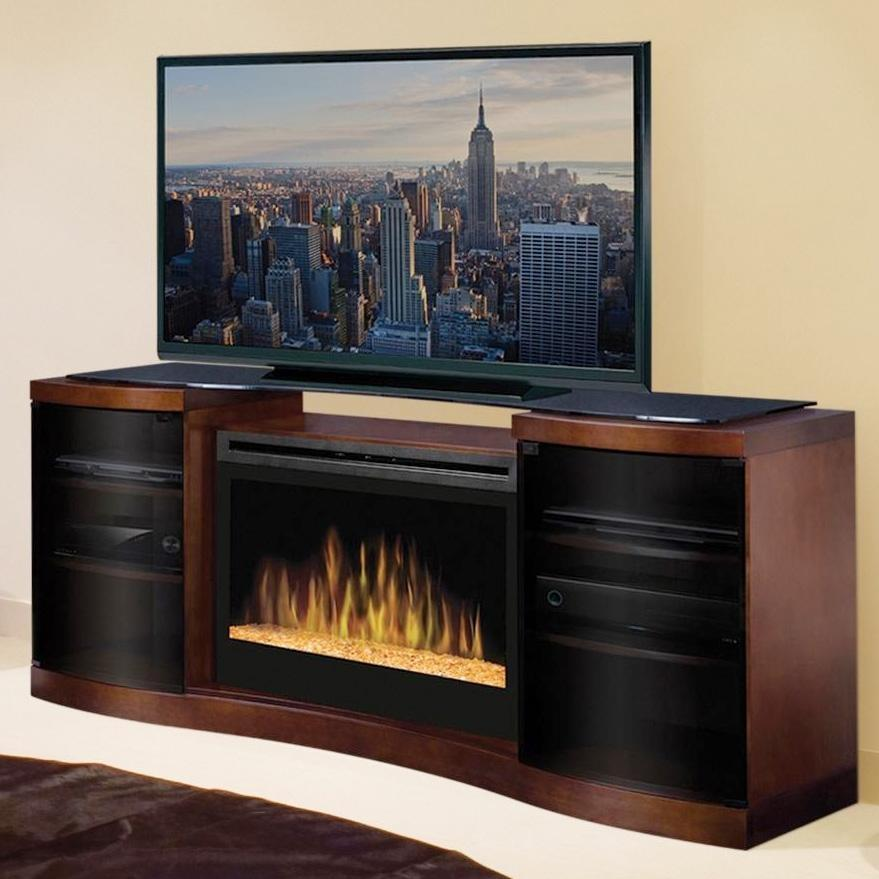 Dimplex Dimplex Acton 72-inch Electric Fireplace Media Console With ...