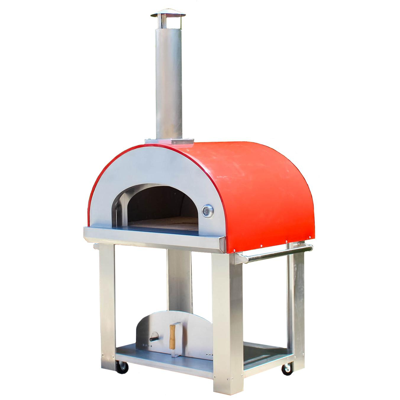 Bella Grande C36 (36 Inch) Wood Fired Outdoor Pizza Oven On Cart