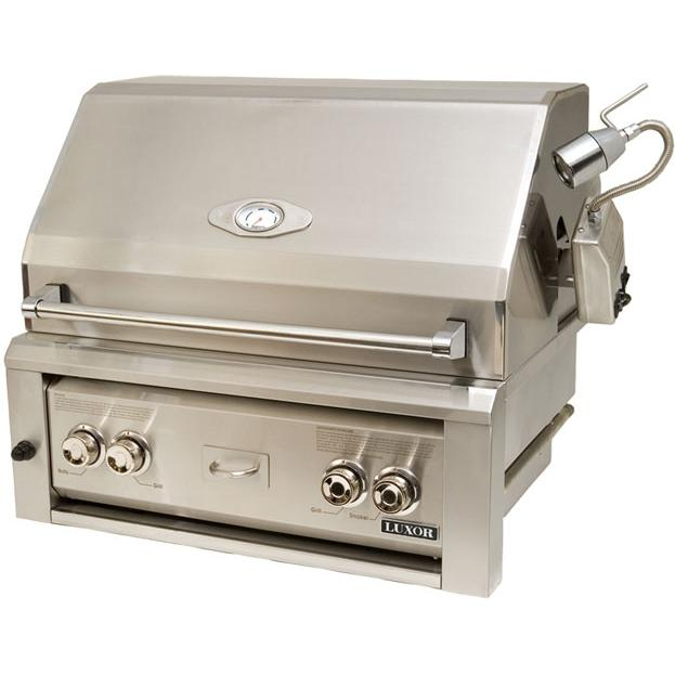 Luxor Gas Grills 30 Inch All Infrared Built-in Natural Gas Grill With Rotisserie AHT-30R-BI-NG