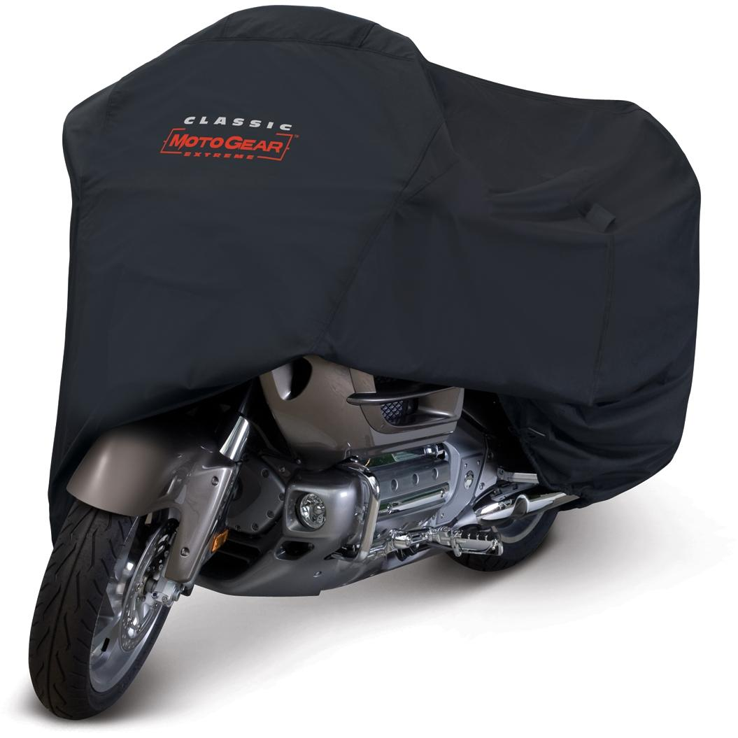 Classic Accessories MotoGear Deluxe Motorcycle Cover - Black - Touring