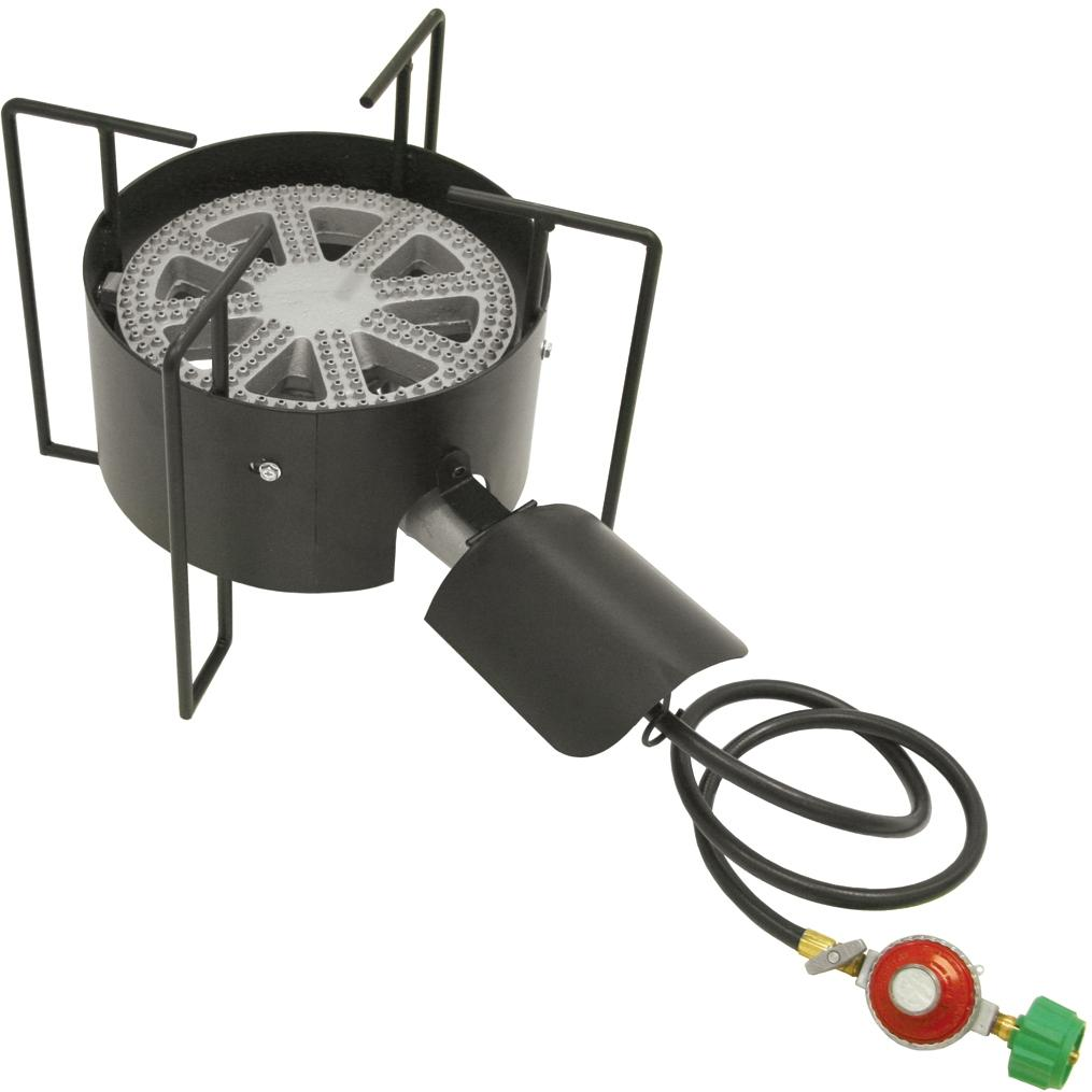 Bayou Classic Cookers With Hose Guard 16 Inch Low Pressure Banjo Cooker