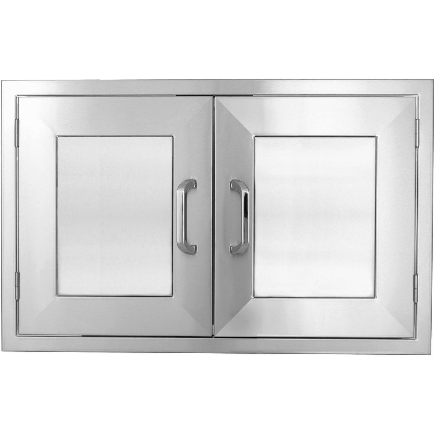 Stainless Access Doors : Bbqguys kingston panel series inch stainless steel