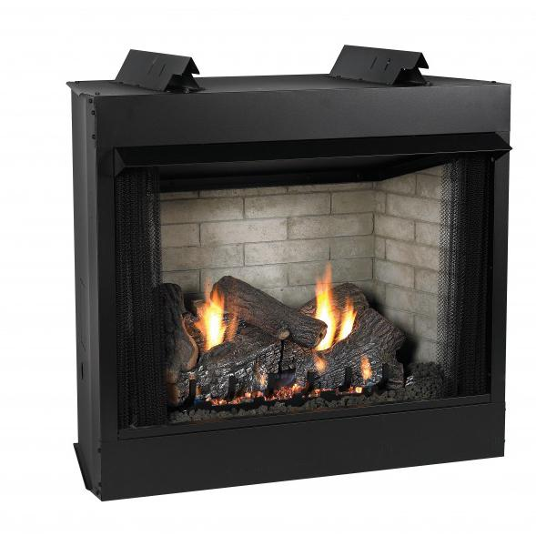 Empire Comfort Systems Deluxe 42' Vent-Free Firebox - Flush Face Refractory Liner, Black