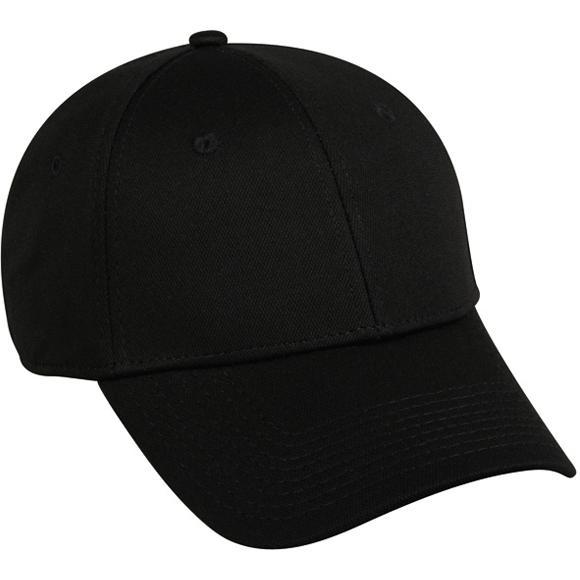 Outdoor Cap Bamboo Charcoal Performance Cap - Black