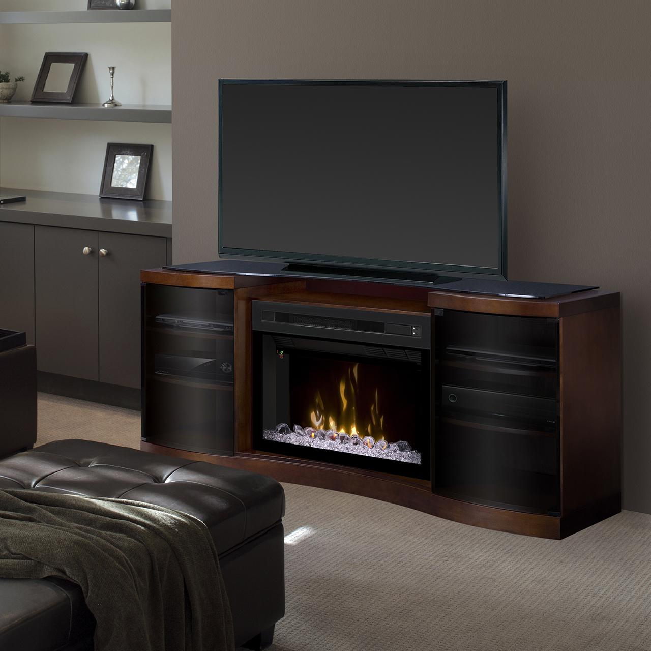 Dimplex Multi-Fire XD Acton 72-Inch Electric Fireplace Me...