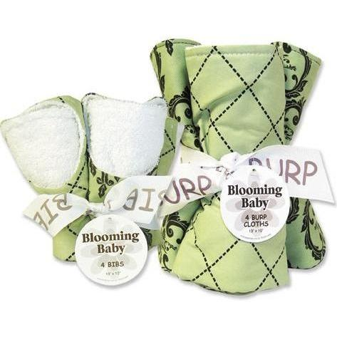 Trend Lab Bib And Burp Cloth Set - Vintage