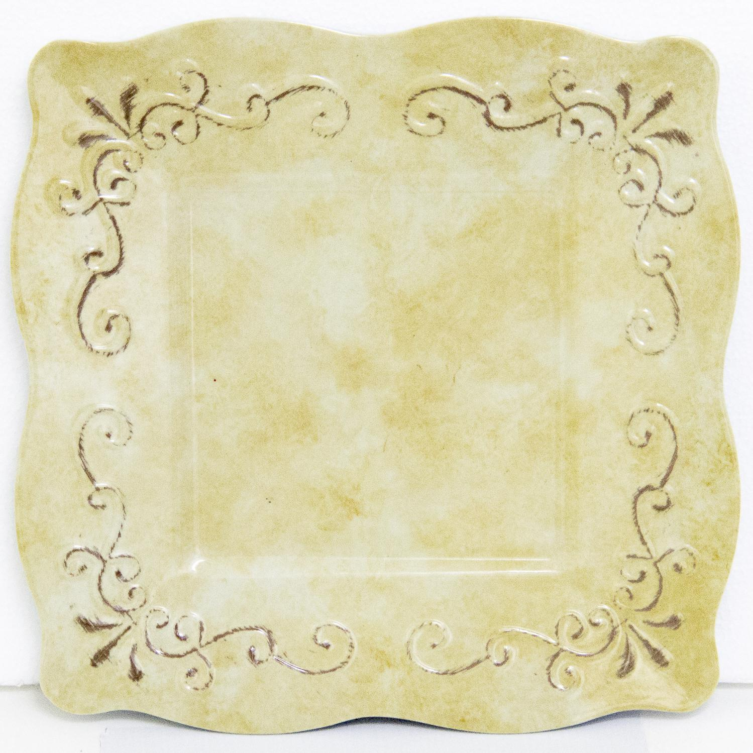 Almond 11.5-Inch Plate