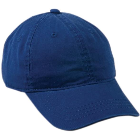 Outdoor Cap Unstructured Garment Washed Twill Cap - Royal, Discount ID GWT-111-425