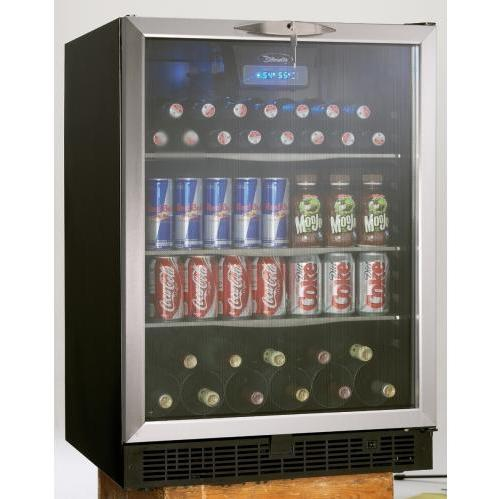 Danby DBC514BLS 11 Bottle / 112 Can Built-In Beverage Center And Wine Cooler - Glass Door / Stainless Steel Trim