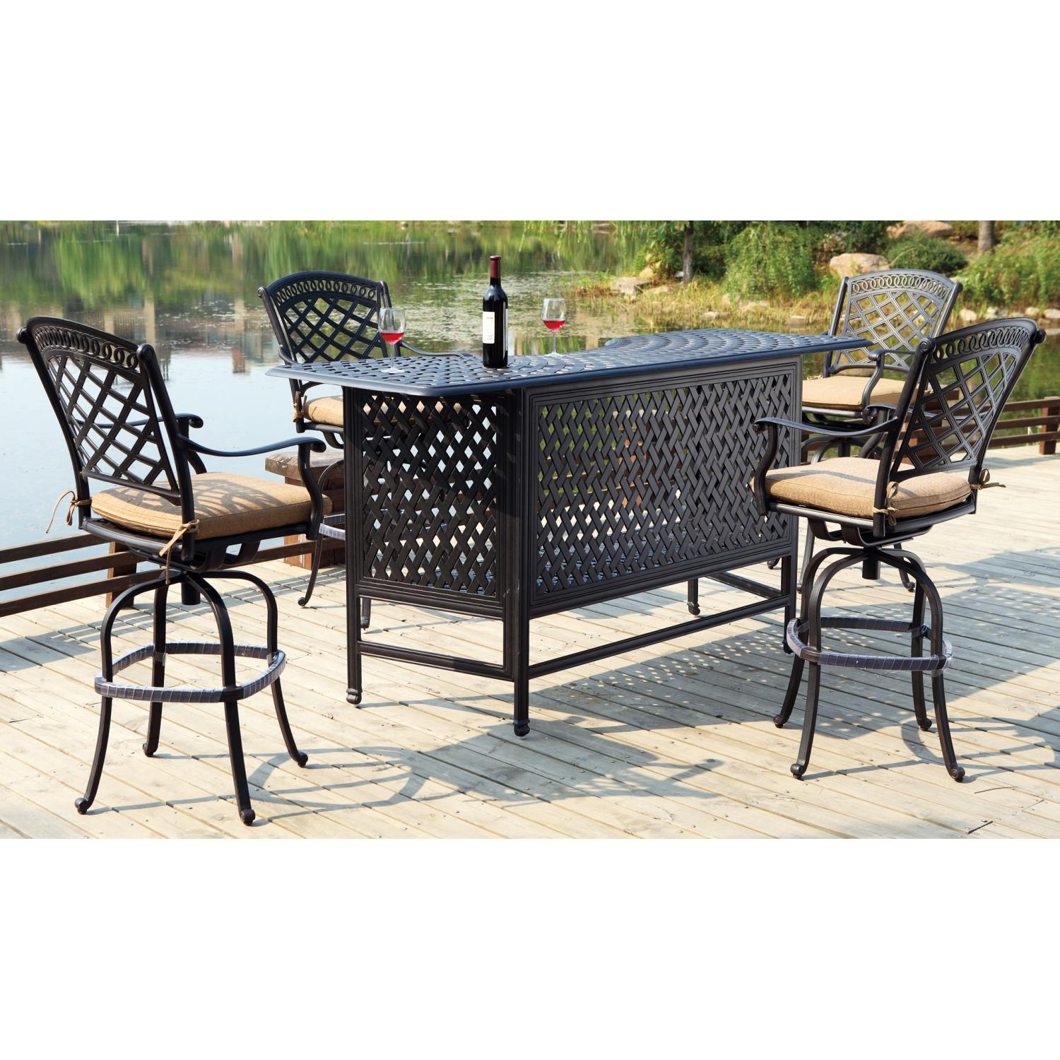 Furniture Outdoor Furniture Bar Party Bar Outdoor Aluminum Patio