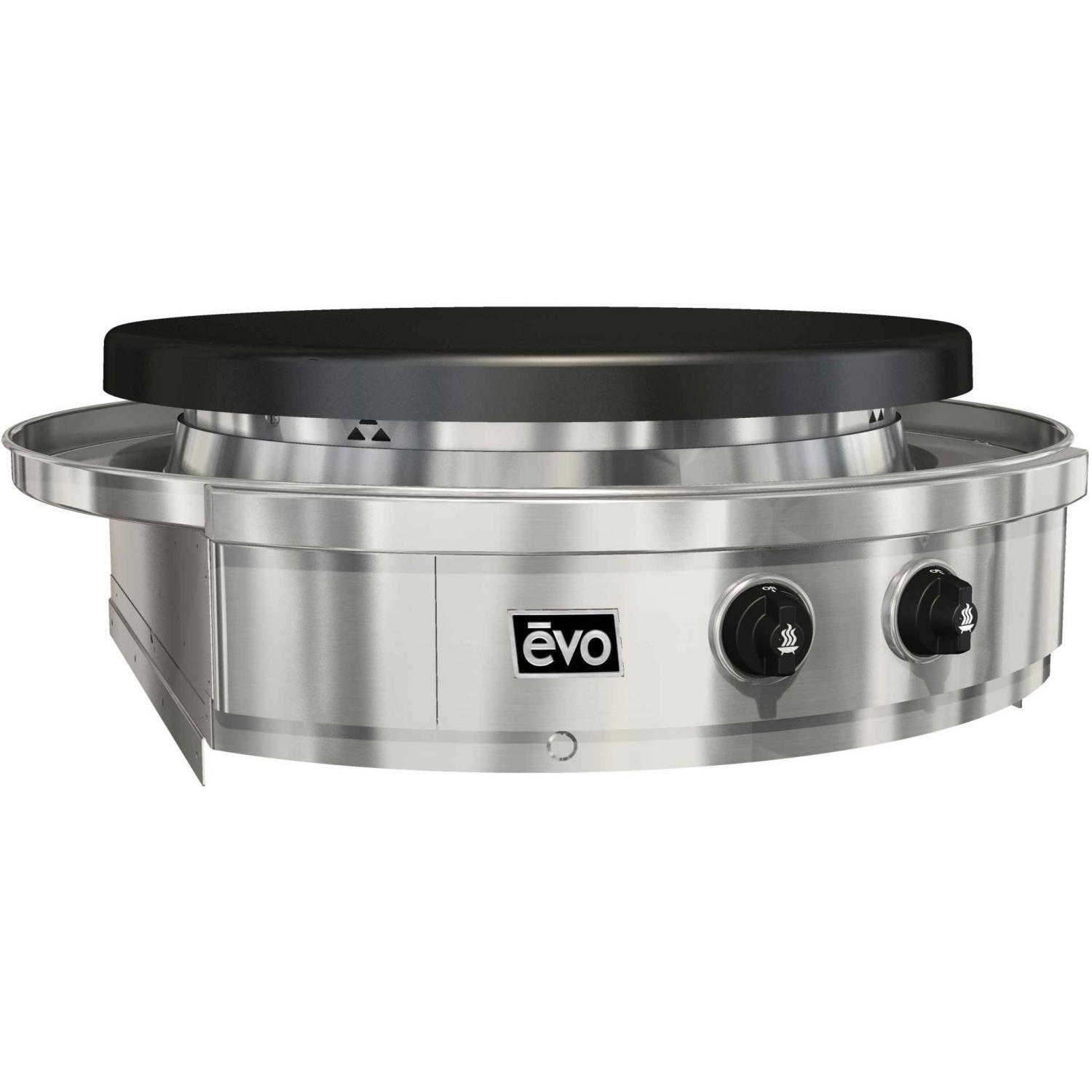 EVO Affinity Classic 30G Built-In Flattop Propane Gas Grill