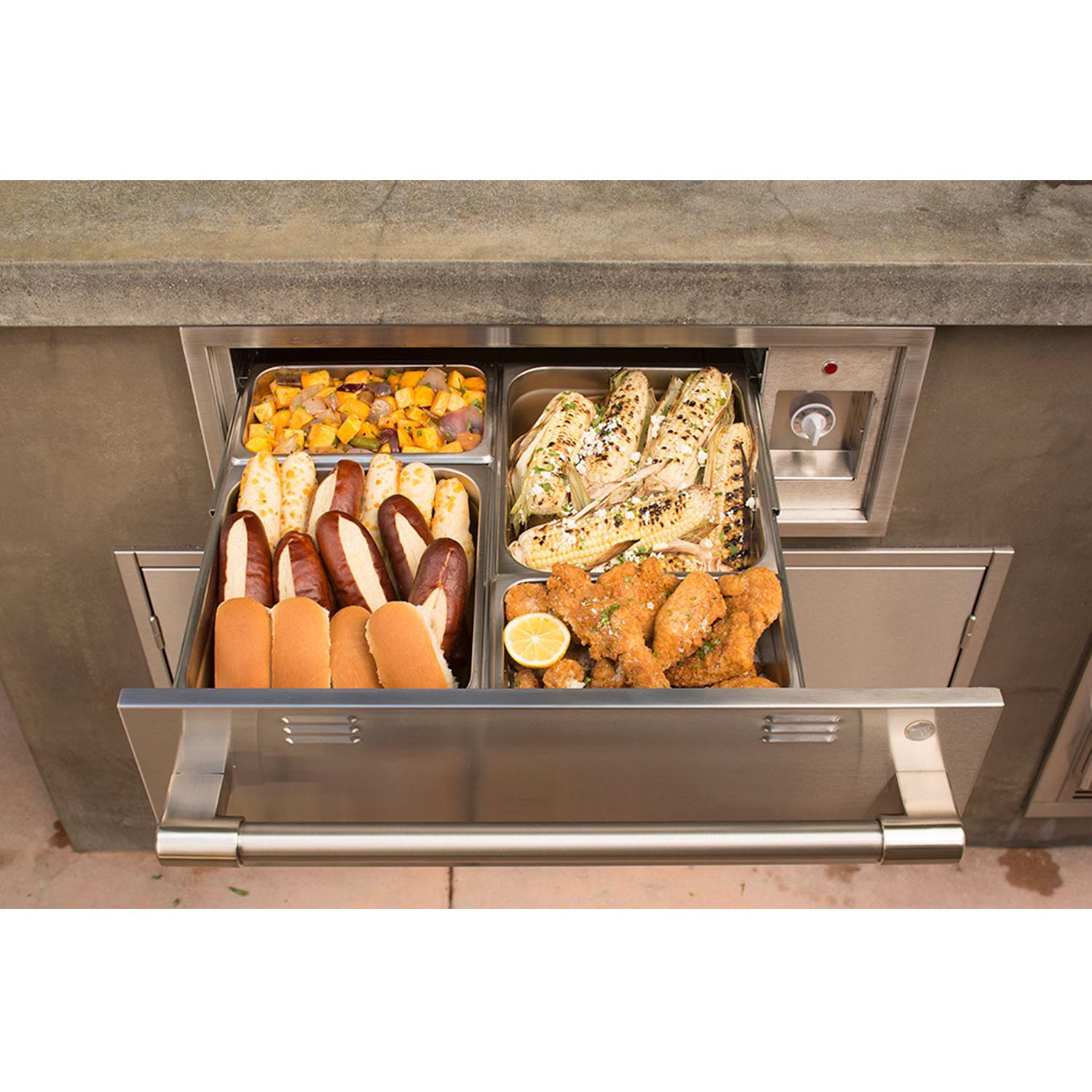 Alfresco 30-Inch Electric Warming Drawer - AXEWD-30 2910676
