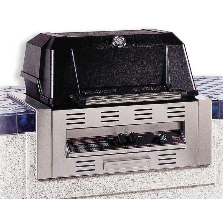 MHP Gas Grills WNK4DD Propane Gas Grill W/ SearMagic Grids - Built In