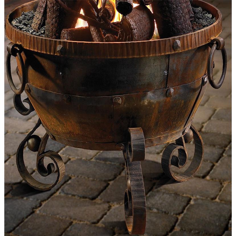 Firegear Ironwood Natural Gas Fire Pit Bowl