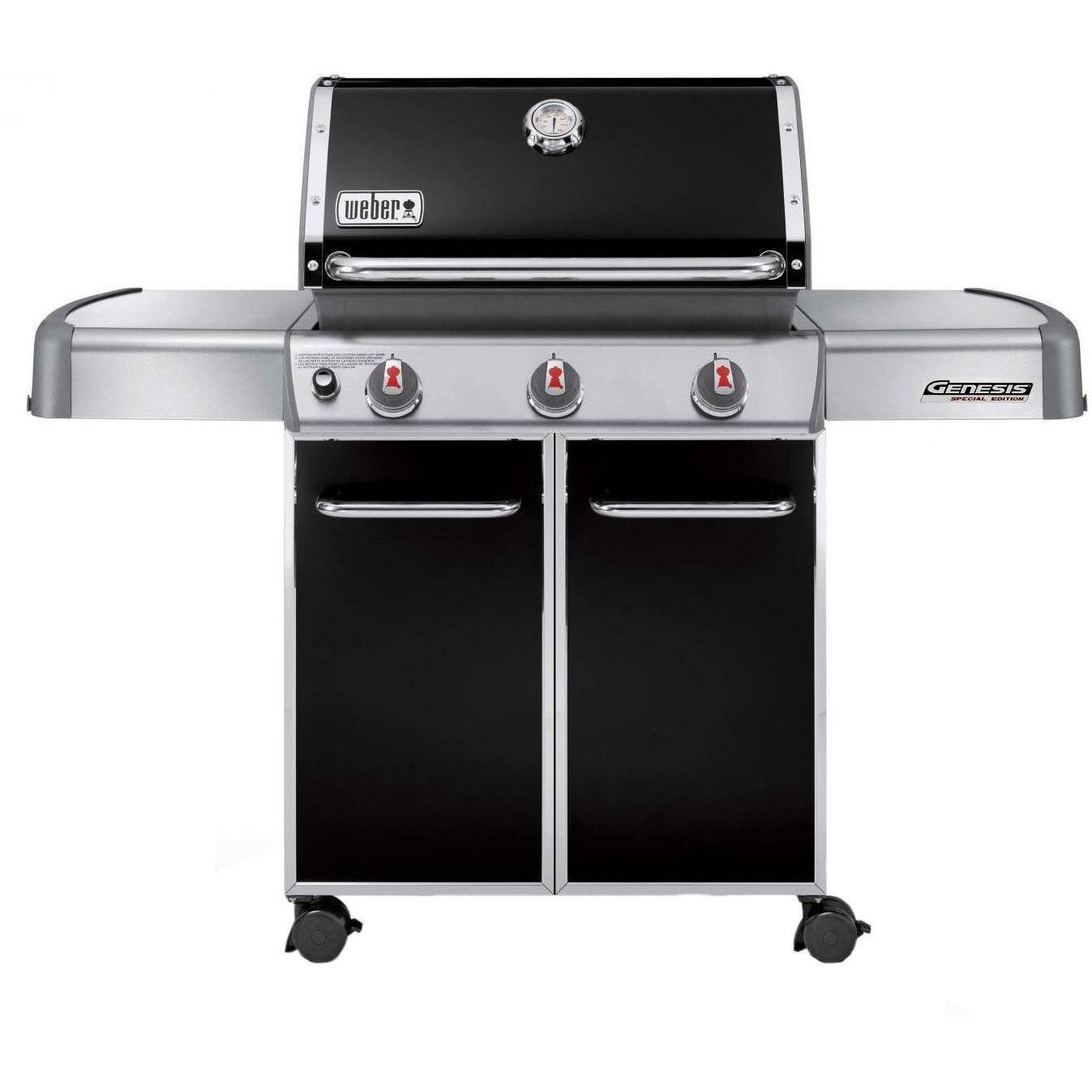 Weber Genesis Premium EP-310 Natural Gas Grill On Cart - Black 2894760