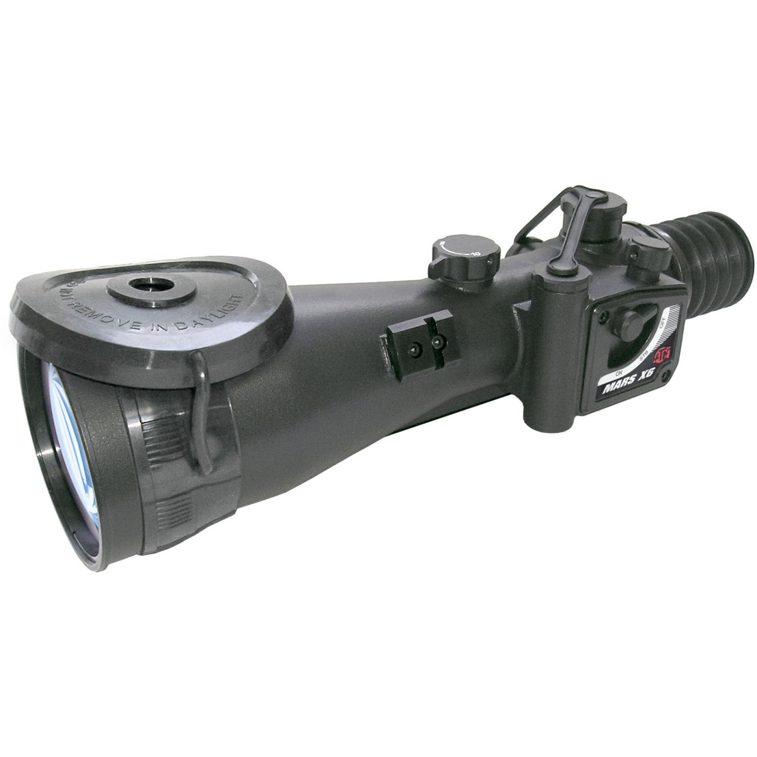 Atn Mars6x Night Vision Weapon Scope With Gen Wpt 60-74 Lp/mm Resolution - Nvwsmrs6wp