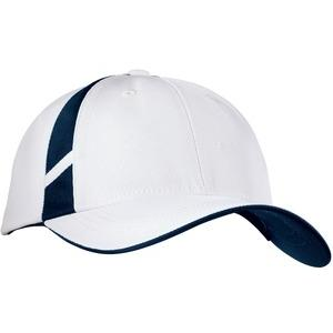 Sport-tek Dry Zone Mesh Inset Cap - White/True Navy at Sears.com