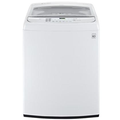 LG WT1701CW 5.0 Cu. Ft. TurboWash Top Load Washer - White 2890258