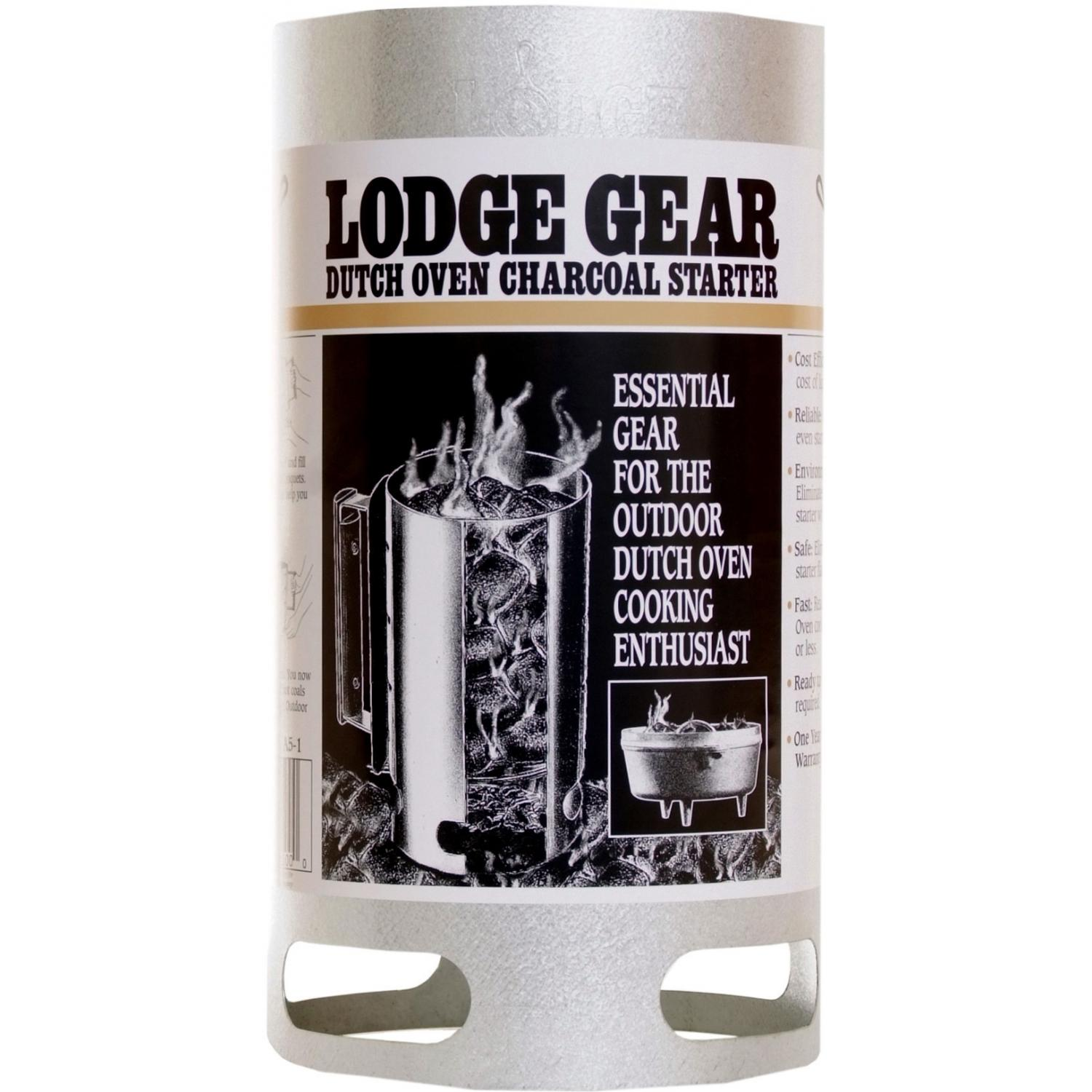 Lodge Camping Dutch Oven Charcoal Chimney Starter - A5-1