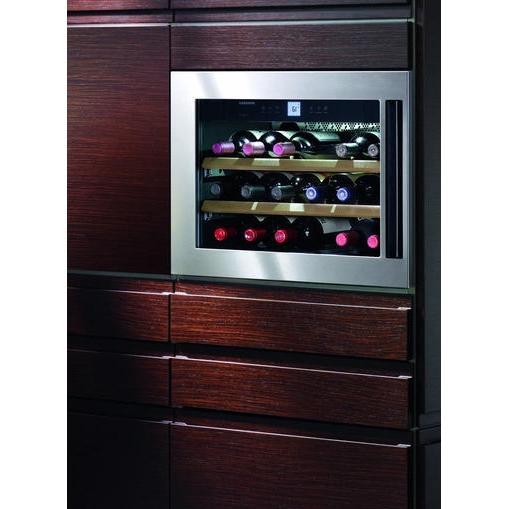 18 Wine Cooler Undercounter Liebherr 18 Bottle Built In