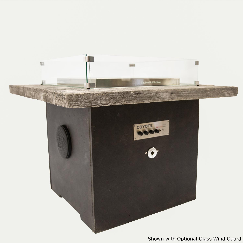 Blazing Beats Dancing Flame 38 Fire Table W/ Bluetooth Audio - South Beach Loft - Propane - COY-SOBL-BB-LP