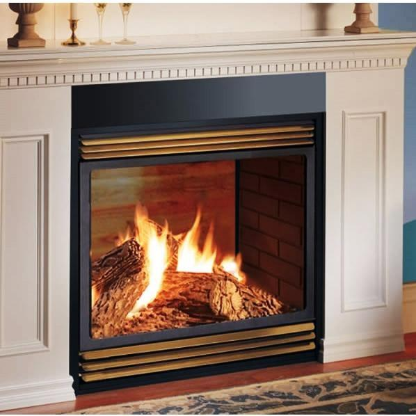 Napoleon GVF40 Vent Free Natural Gas See-Thru Fireplace