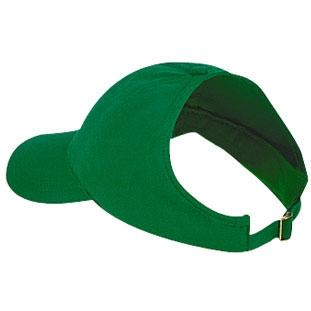 Otto Cap Brushed Cotton Twill Low Profile Pro-Style Ponytail Cap - Kelly