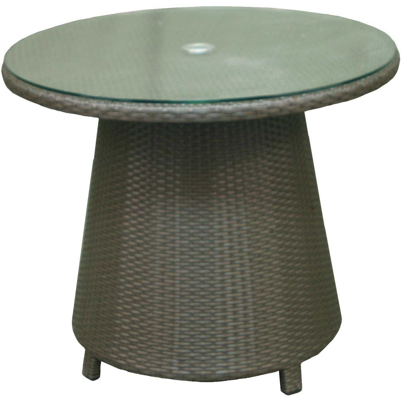 Glass Only For Melrose Round Chat/Conversation Table