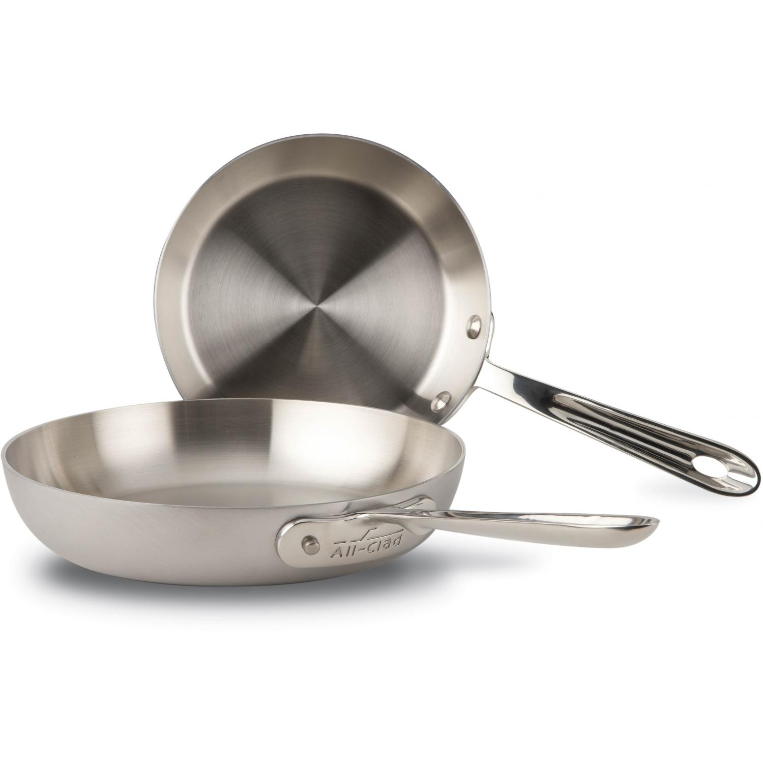 All-Clad D5 Stainless French Skillet Set - 2 Pieces