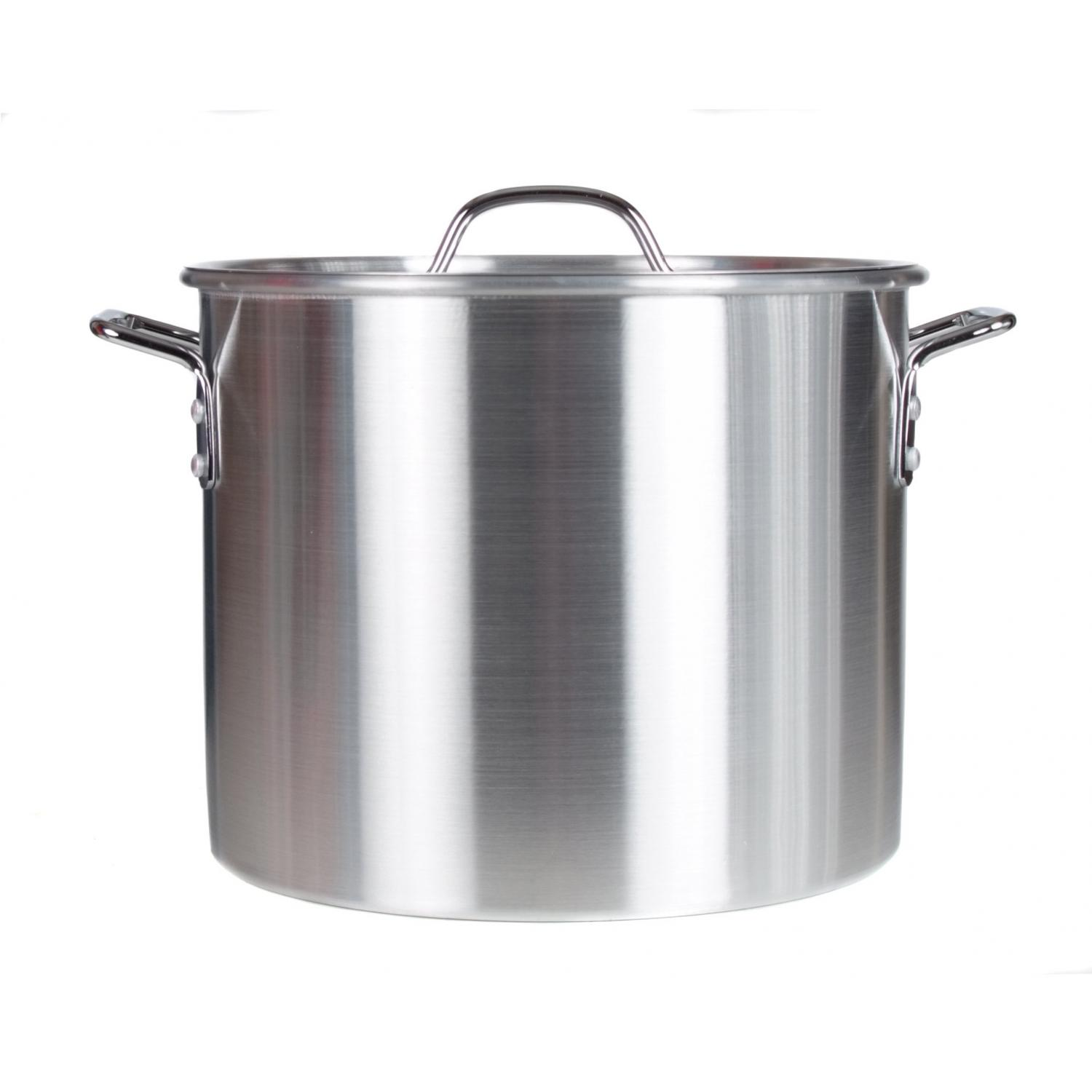 Cajun Cookware Pots 20 Quart Aluminum Stock Pot