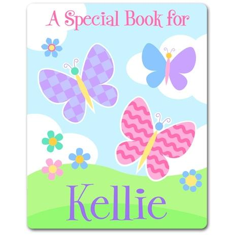 Olive Kids Personalized Book Plate - Butterfly Garden