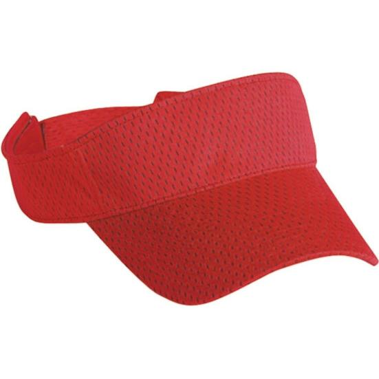 Cobra Caps Mesh Visor - Red