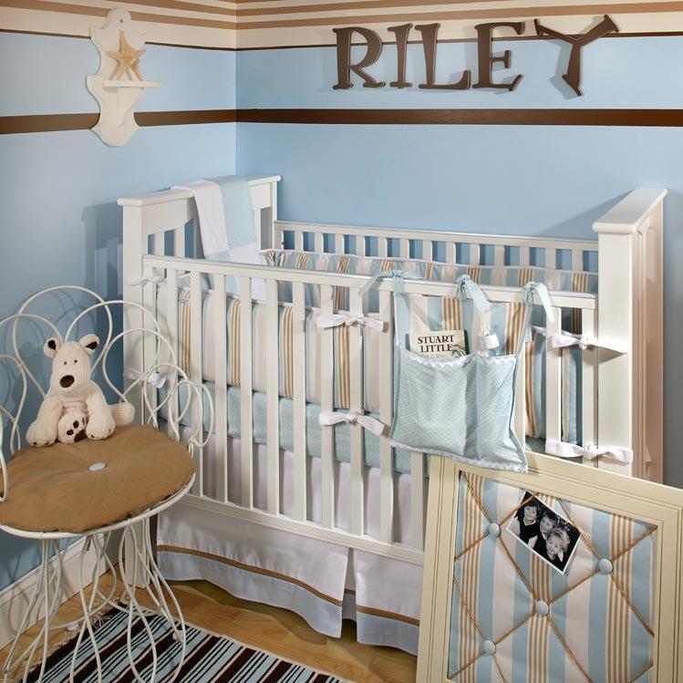 New Arrivals Crib Bumper - Beachside Baby