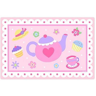 Olive Kids Laminate Placemat - Tea Party