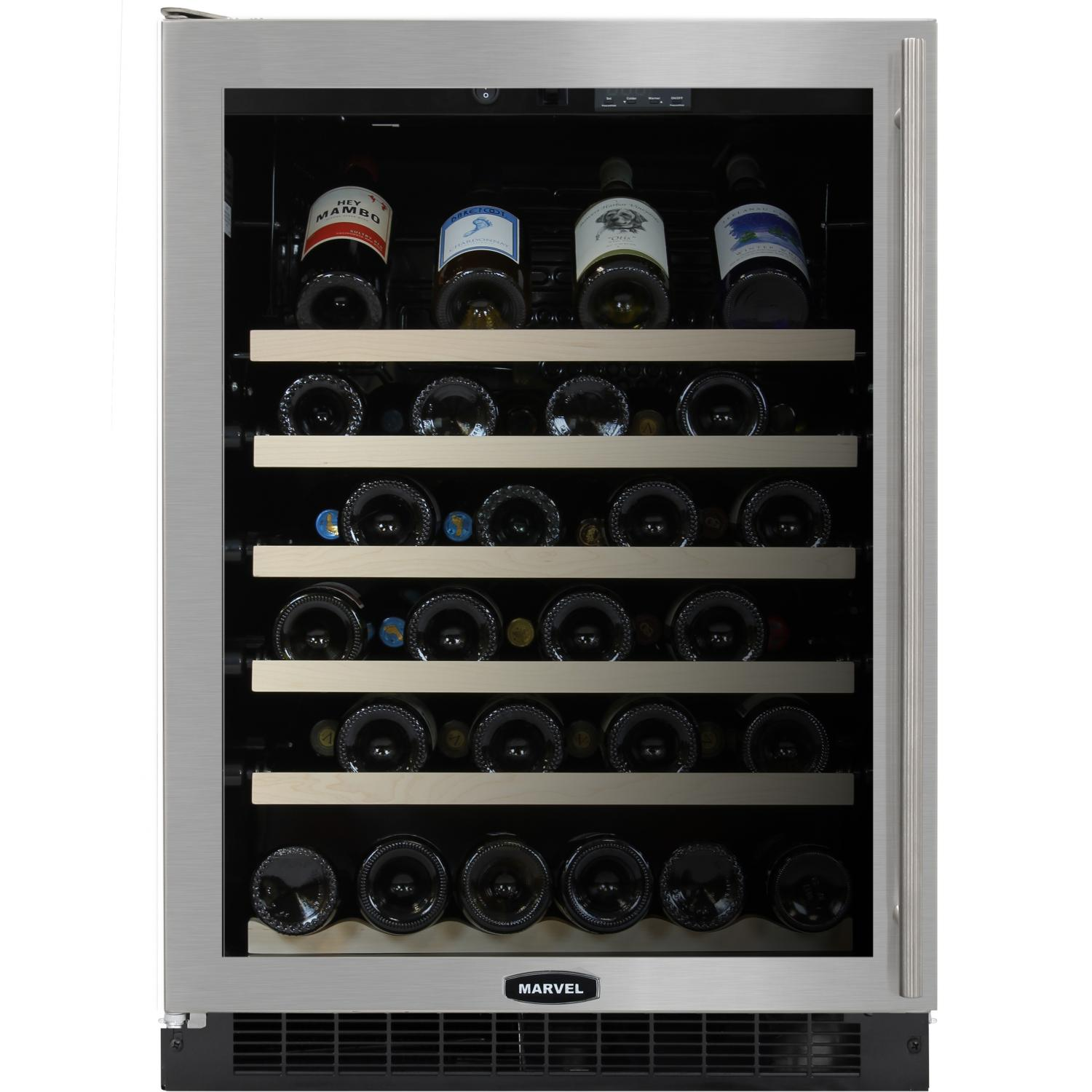 Wine Coolers July 2013 Installing Electrical For Your Basement 21 Things You39ll Need Marvel Luxury 45 Bottle Built In Cooler Glass Door Stainless Steel Trim