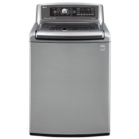LG WT5680HVA 5.2 Cu. Ft. TurboWash Top Load Washer - Graphite Steel 2890252