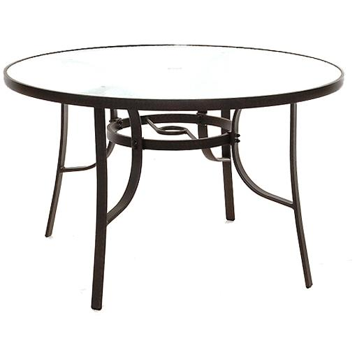 Lakeview Outdoor Designs 48-inch Round Patio Dining Table With Glass Top at Sears.com