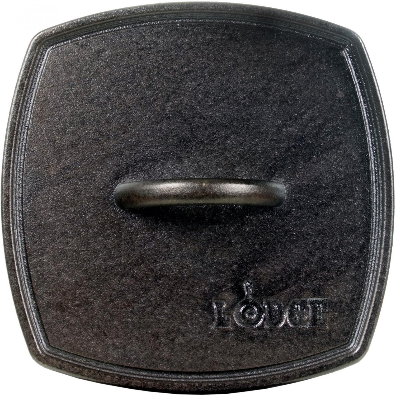 Lodge Cast Iron Logic Ribbed Panini Press 8.25 Square LPP3 - LPP3