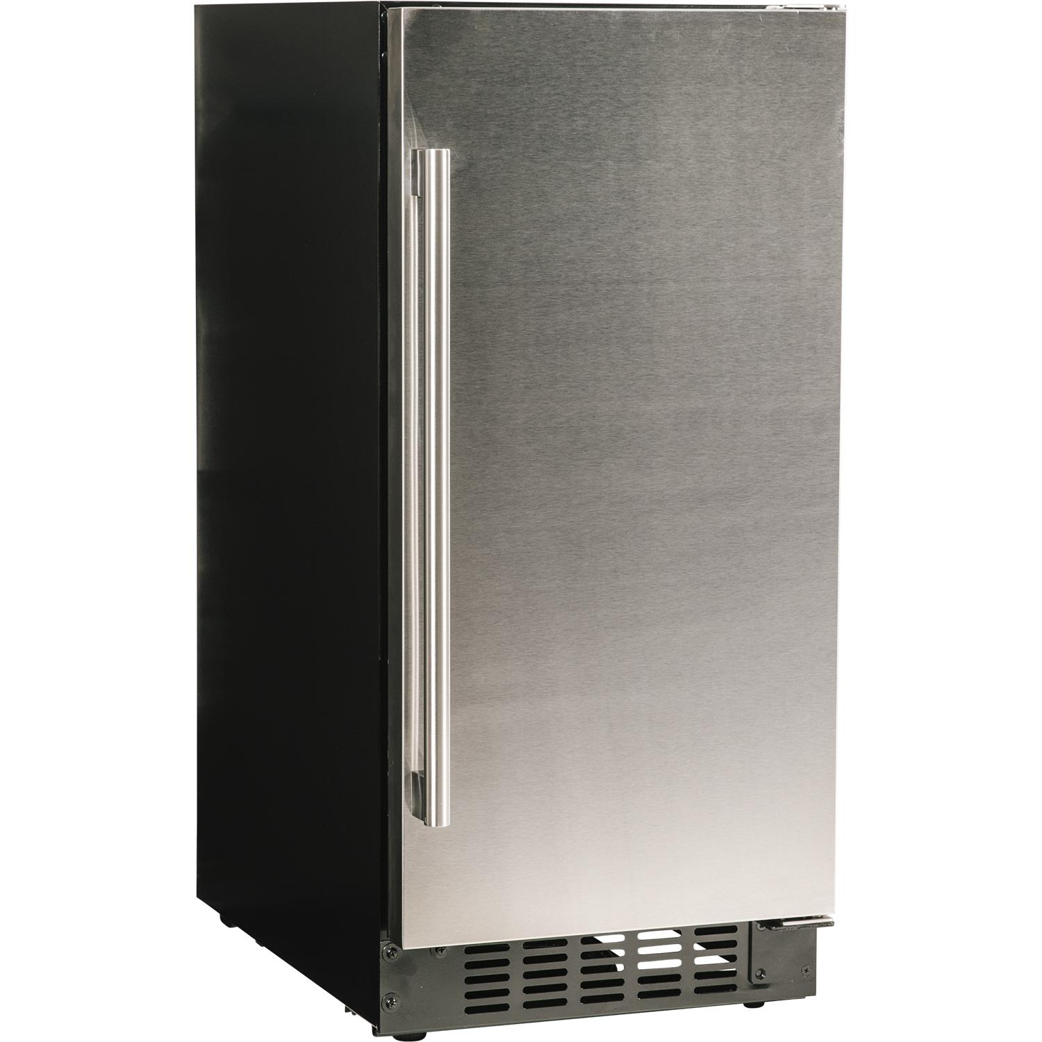 """Azure 15"""" 3 Cu. Ft. Compact Refrigerator - Stainless Steel - A115r-s"""
