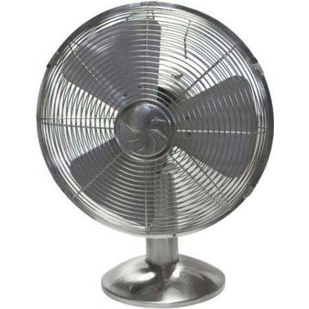Soleus FT1-30-42 12 Inch All Metal Table Fan