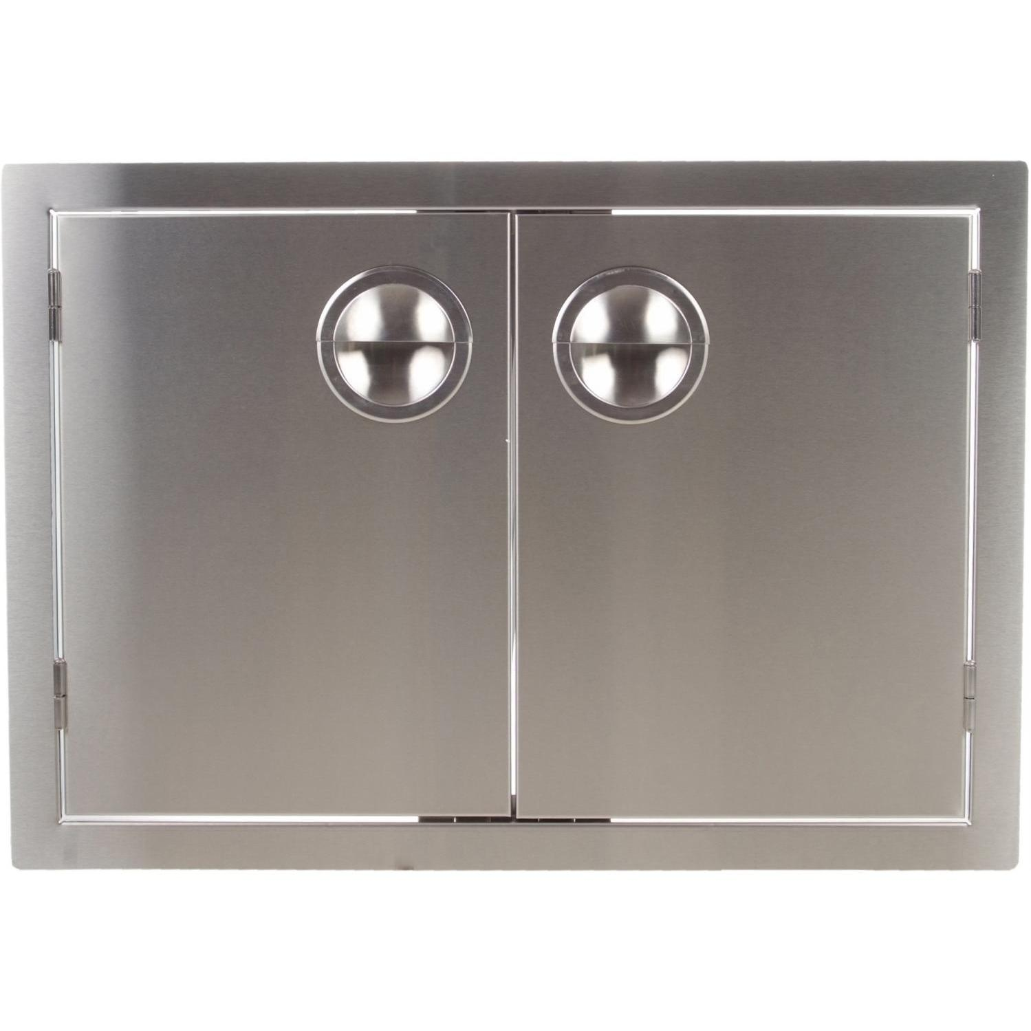 Bbqguys.com Portofino Series 36 Inch Stainless Steel Enclosed Cabinet Storage