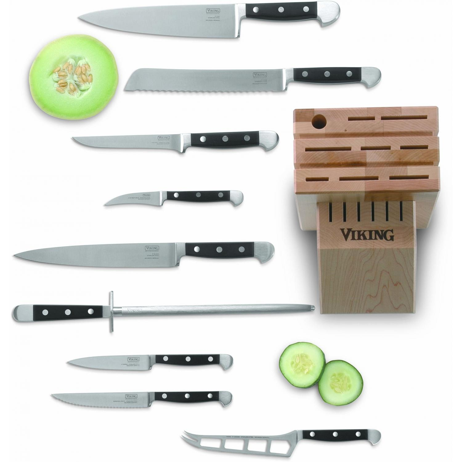 Viking VCSR0105 10-Piece Chefs Cutlery Set