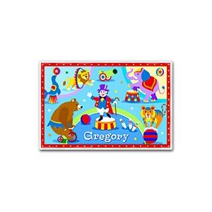 Olive Kids Personalized Laminate Placemat - Big Top
