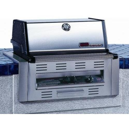 MHP Gas Grills TJK2 Propane Gas Grill W/ SearMagic Grids - Built In