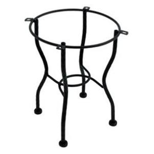 Meadowcraft Wrought Iron Tube End Patio Table Base