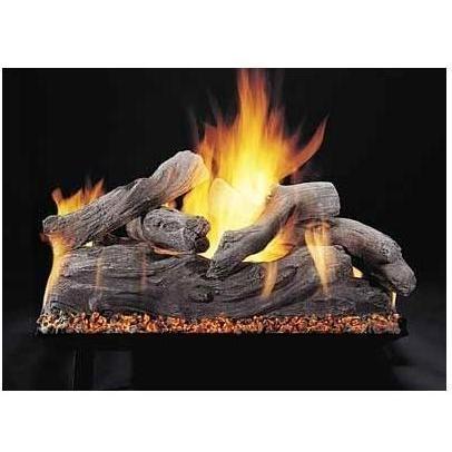 Vented Gas Logs. This Rasmussen Gas Log set
