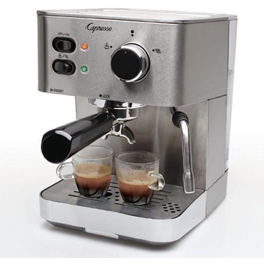 Capresso EC PRO Espresso And Cappuccino Machine - 118.05