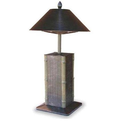 Endless Summer Patio Heaters Sumatra Style Cast Aluminum Table Top Electric Patio Heater